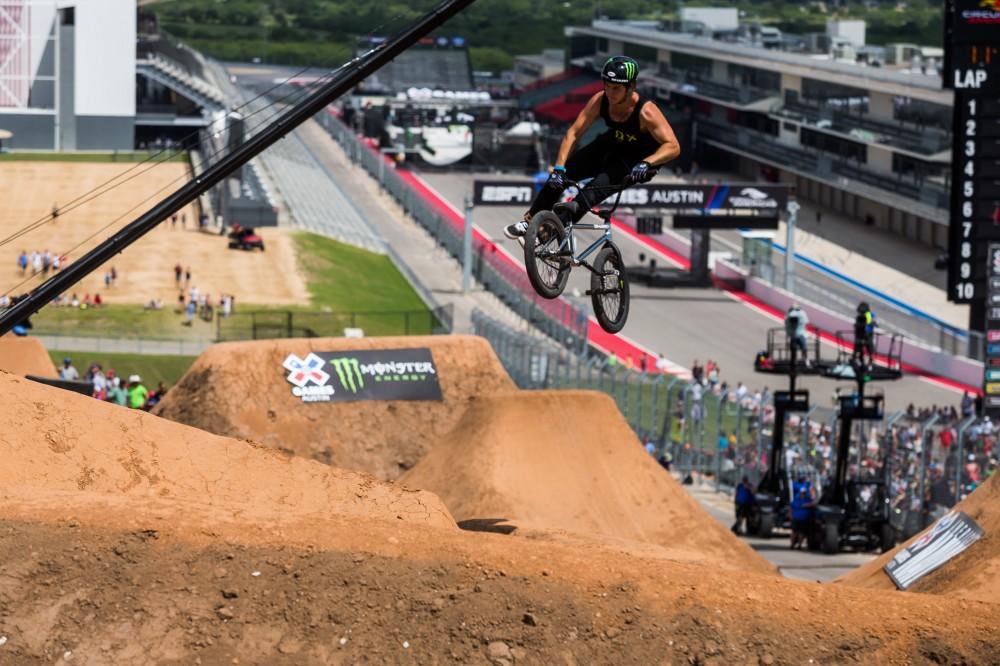X Games BMX Dirt Finals Park Practice Fox RacingX Games Bmx Dirt