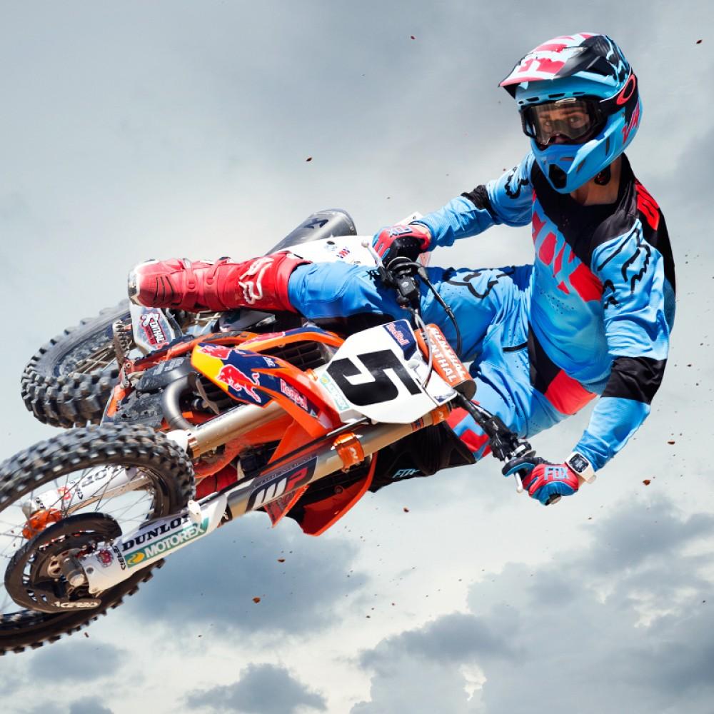 Ricky Carmichael Fox Racing Pro Mx Rider